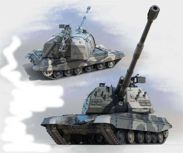 152-мм самоходная пушка-гаубица 2сз «акация»