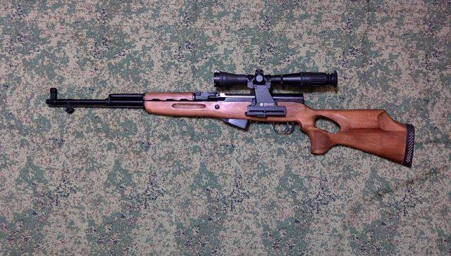 Охотничий карабин скс — обзор, отзывы, фото