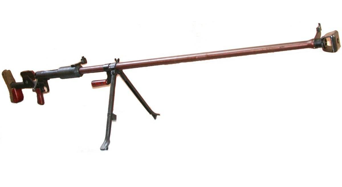 Ружья противотанковые (ПТР) - конструкция, ттх, фото, обзор.