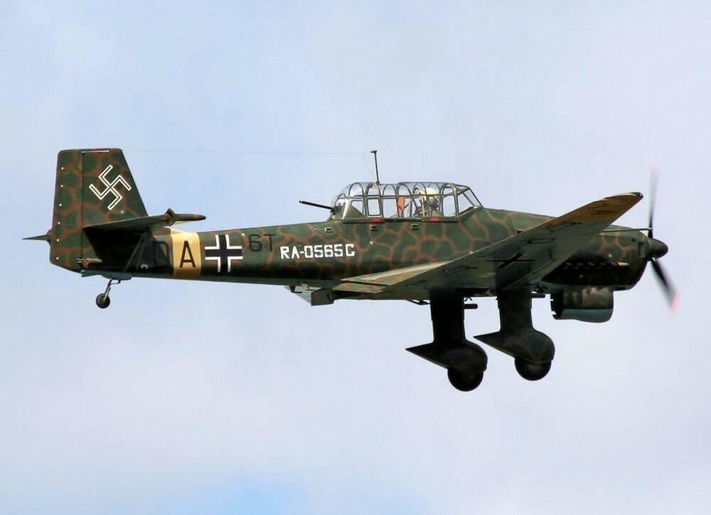 Пикирующий бомбардировщик ю-87 «штука»