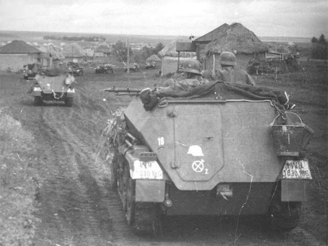 Специализированные варианты бронетранспортеров sd.kfz.251 ausf. a/b/c/d