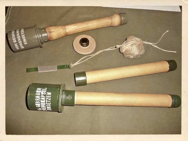Stielhandgranate M-24 «Колотушка» — граната Второй Мировой войны: история создания, конструкция и ТТХ, модификации гранаты, преимущества и недостатки, варианты использования