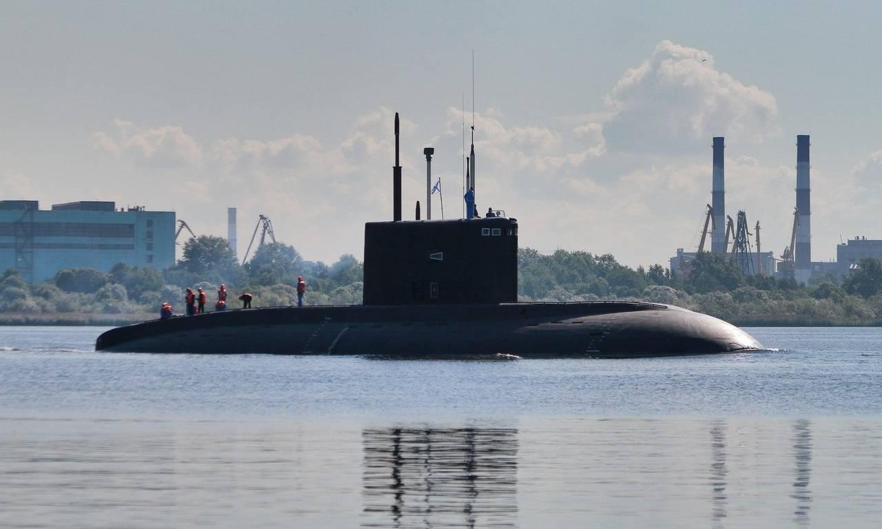Самая бесшумная субмарина российского флота