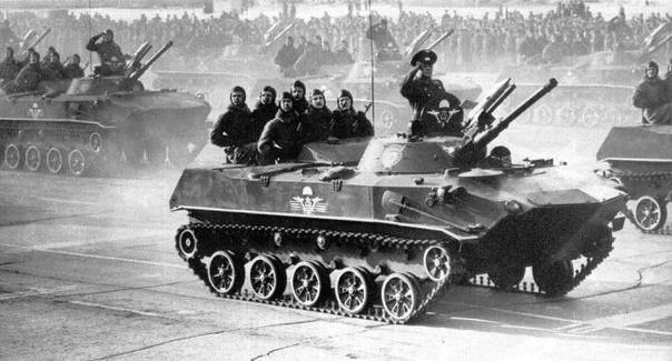 БМД-1 – первая броня ВДВ