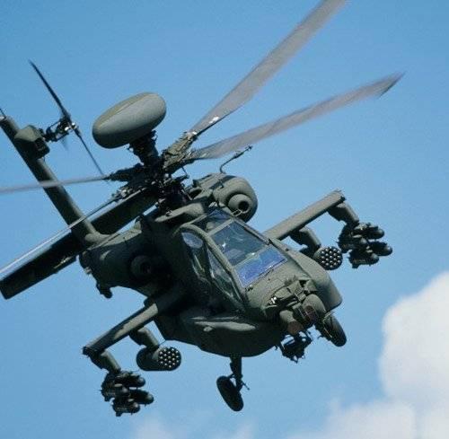 Вертолет boeing ah-64 apache. фото. история. характеристики.