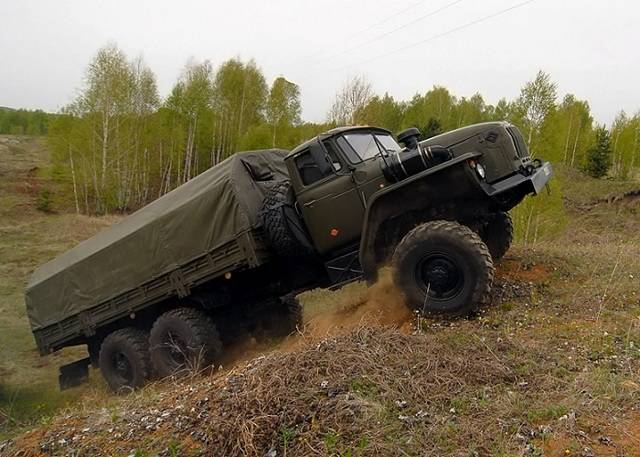 Урал-4320 – долгожитель из Миасса