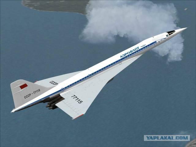 Ту-144 фото. видео. характеристики. скорость. вес