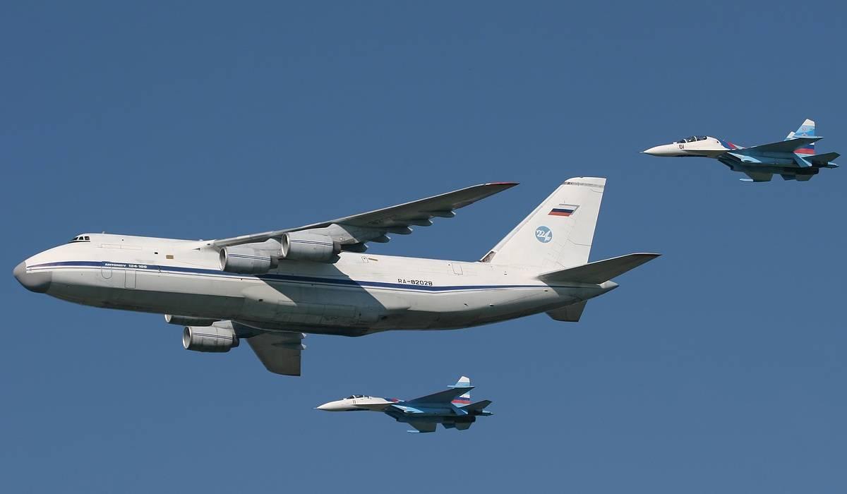 Самый большой серийный транспортник ан-124 «руслан»