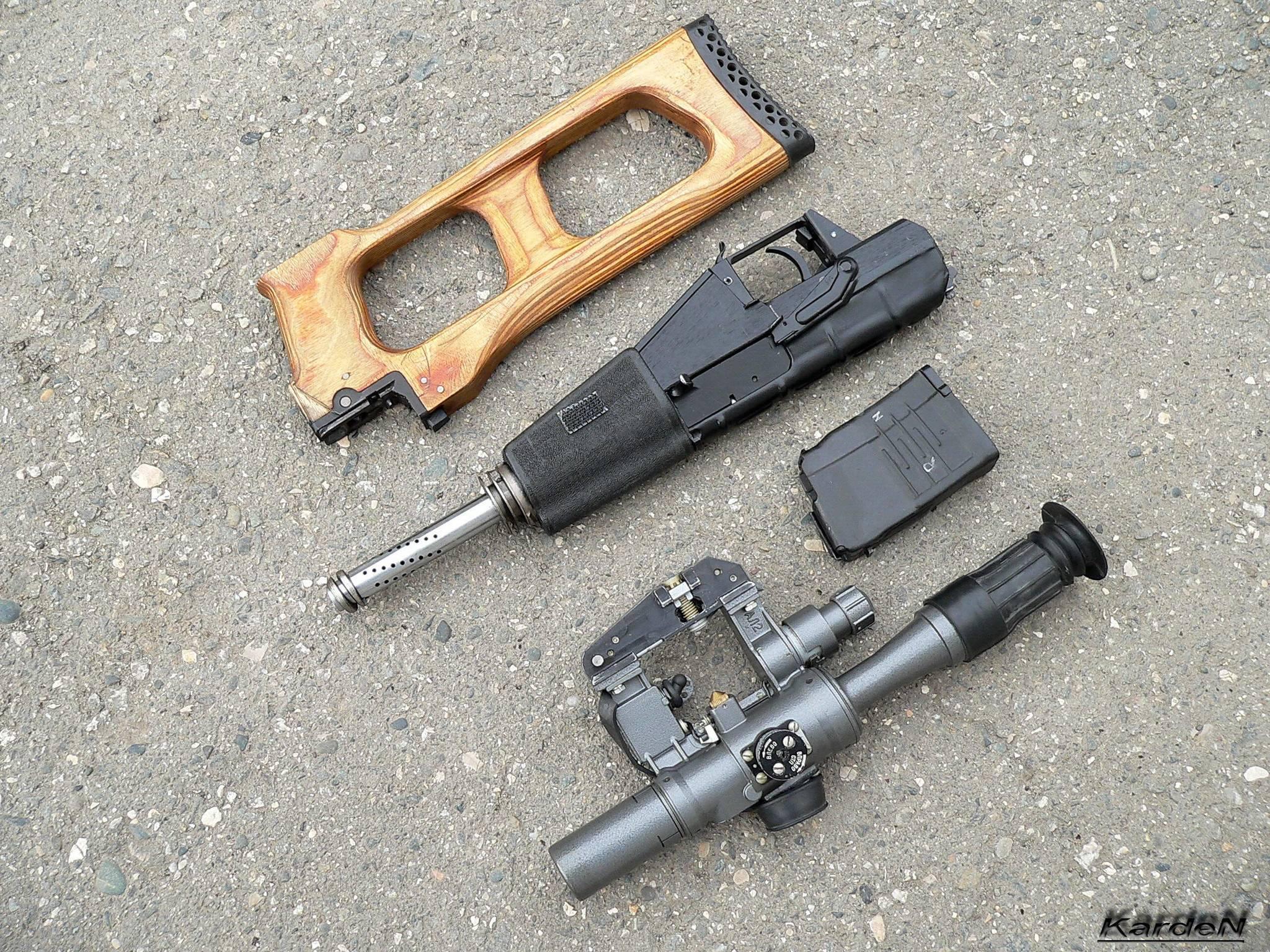 Снайперская винтовка ВСС Винторез