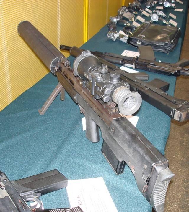 Выхлоп (снайперская винтовка) — википедия переиздание // wiki 2