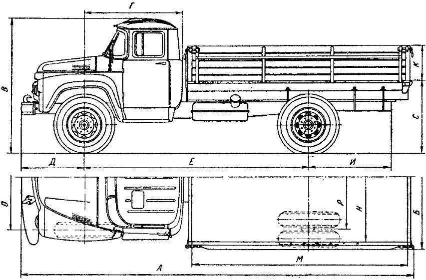 Камаз-43255: технические характеристики