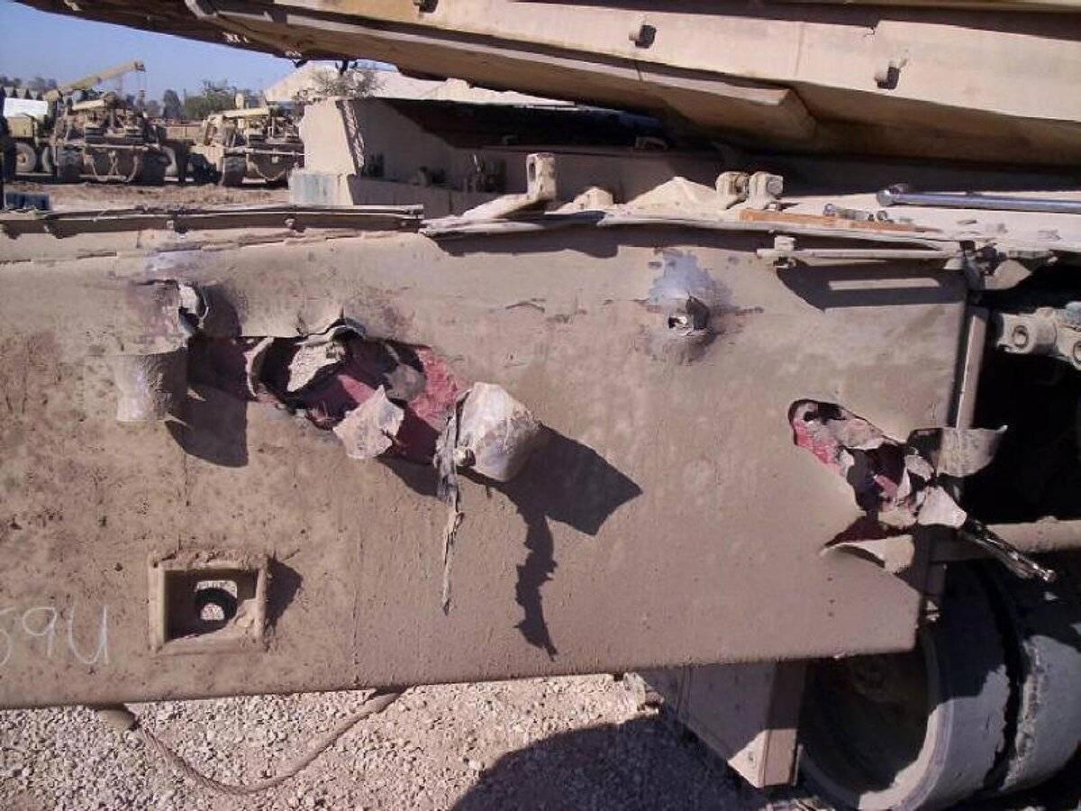 Встречная атака: активная танковая броня
