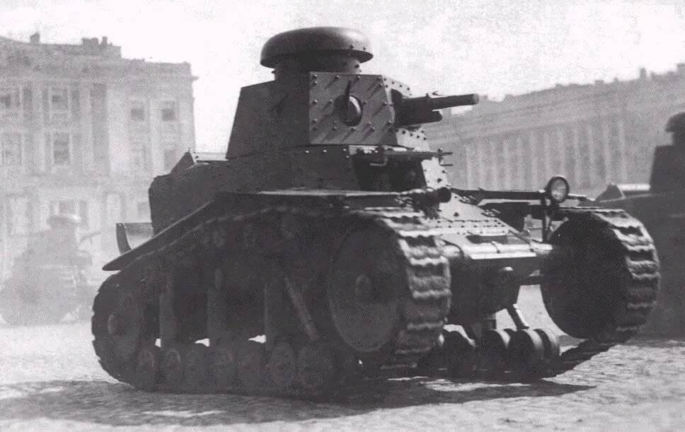 Мс-1 — советский легкий пехотный танк