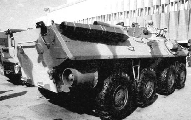 Бронетранспортер бтр-90
