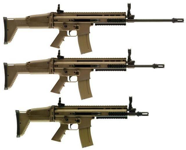 Штурмовая винтовка bofors ak-5