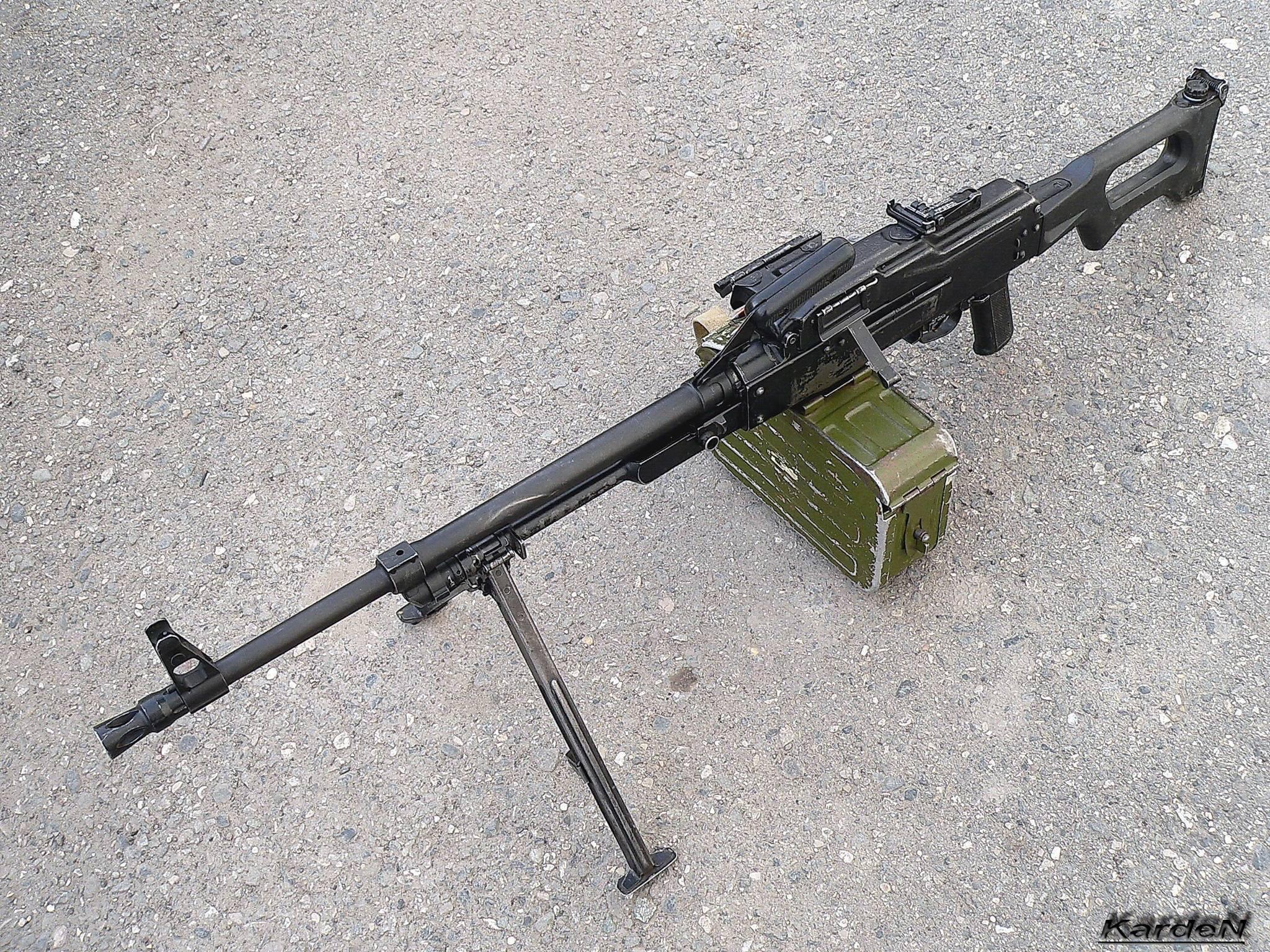 Пулемёт калашникова танковый википедия