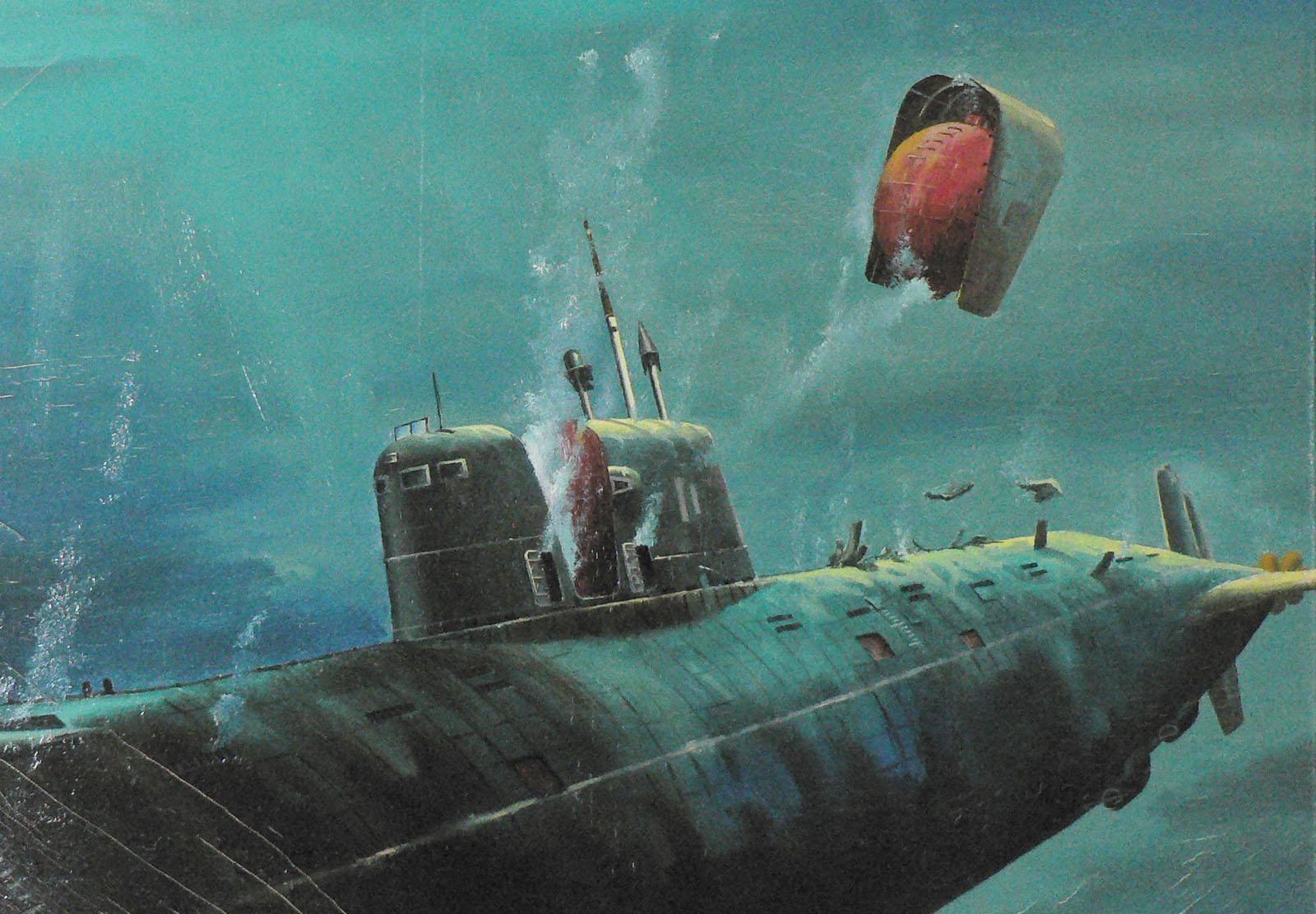 Судьба атомной подлодки к-278 «комсомолец» – крейсера, который опередил время
