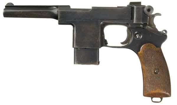 Револьвер Nagant M1910