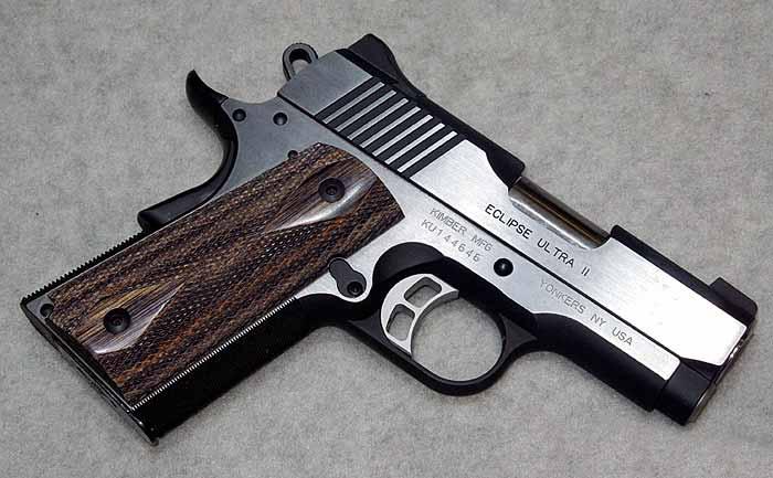 Пистолет kimber warrior
