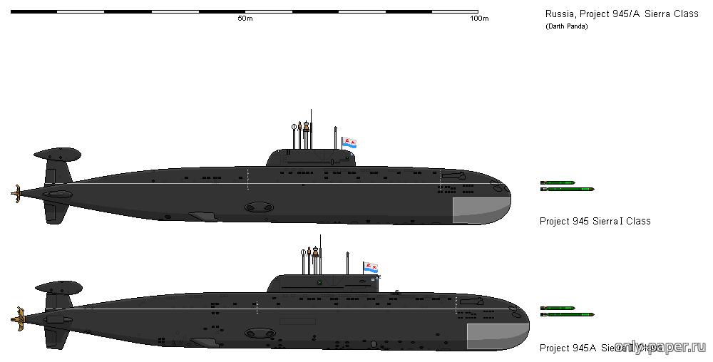 Подводные лодки проекта 945 «барракуда» вики