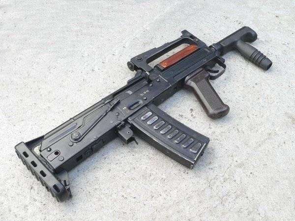 Оц-14 «гроза»: самый необычный российский автомат (11 фото)
