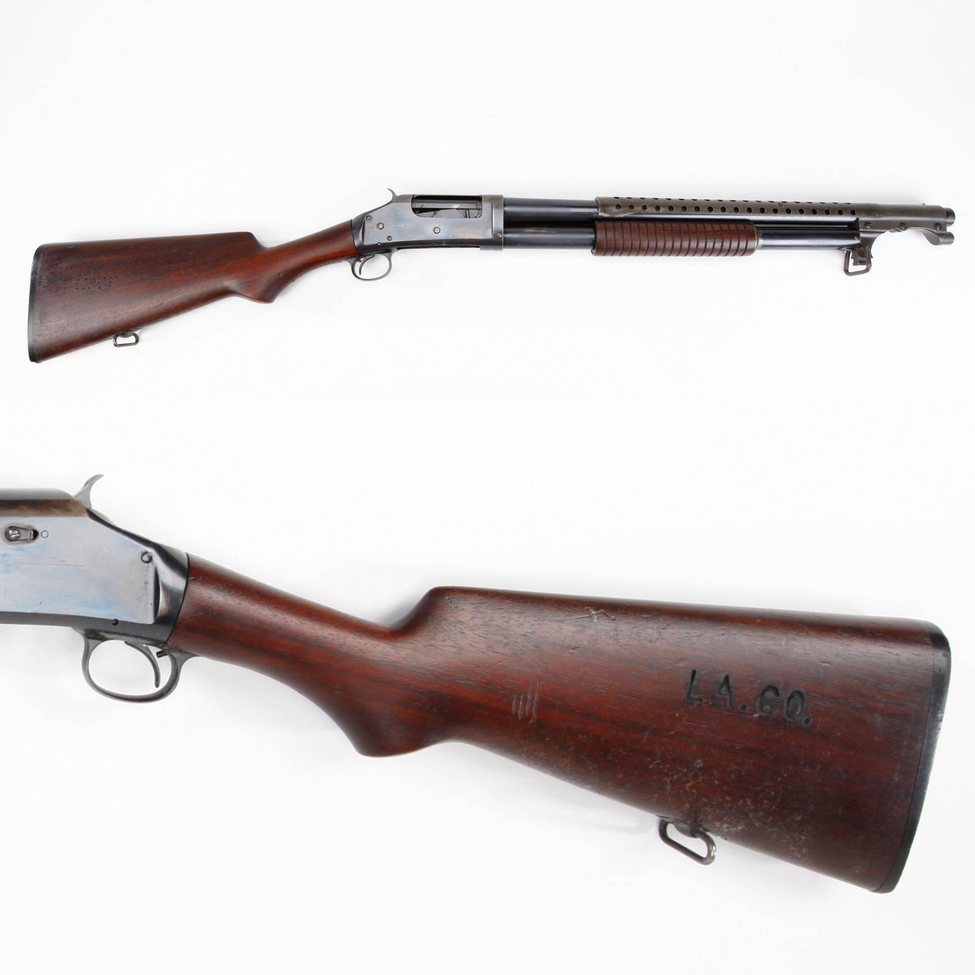 Траншейный дробовик winchester m1897 trench gun