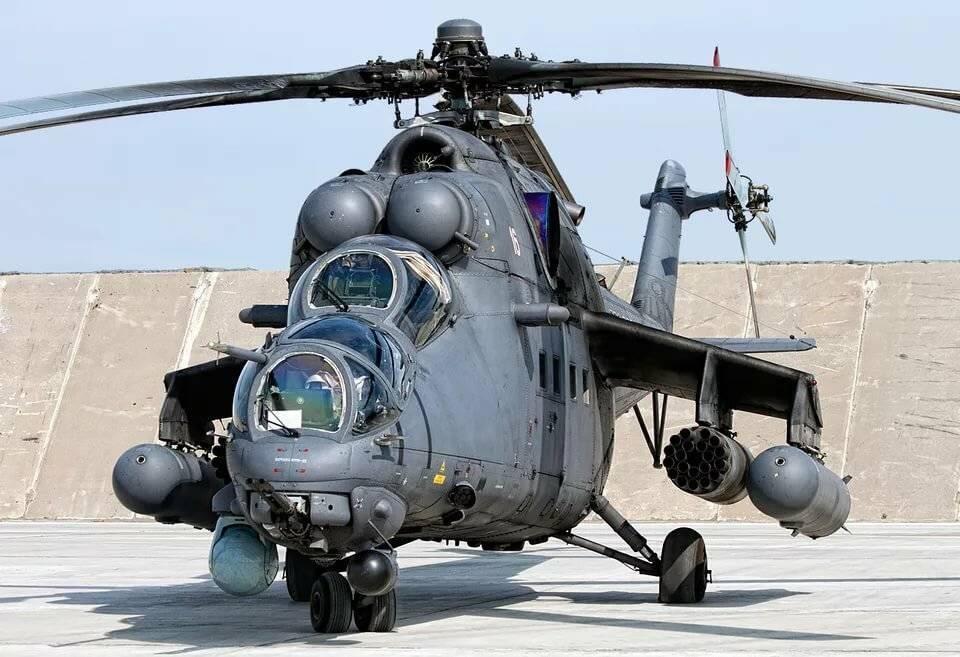вертолет ми-35 — экспортный вариант ударного вертолета