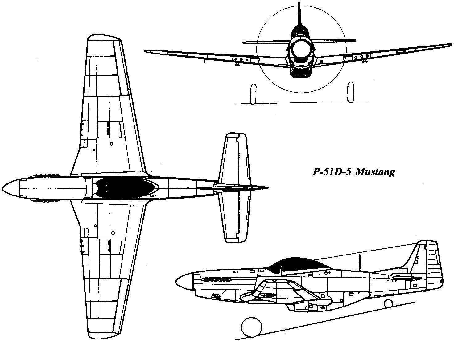 P-51 мустанг википедия