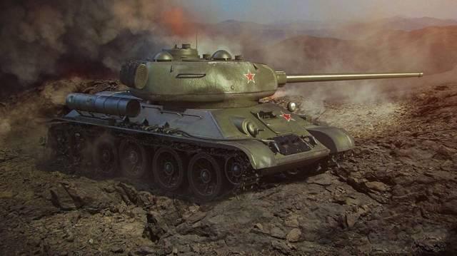 Т-34-85 - конструкция и компоновка танка т-34-85