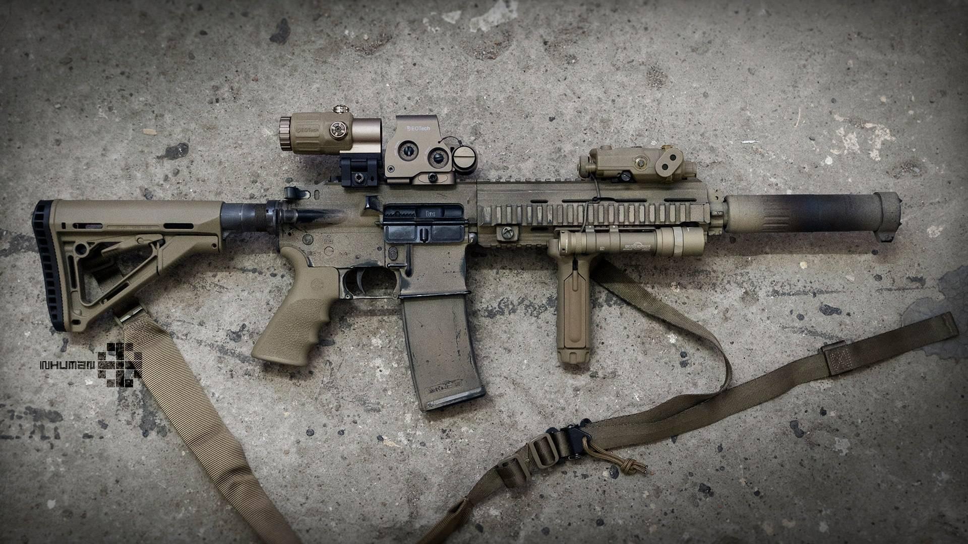 Винтовка HK416 — подробный обзор оружия