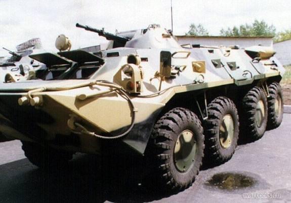 БТР-70 – «переходный» вариант бронетранспортёра