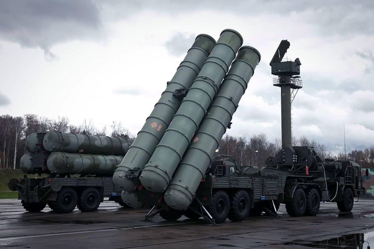 Зенитная ракетная система большой и средней дальности с-400 «триумф»