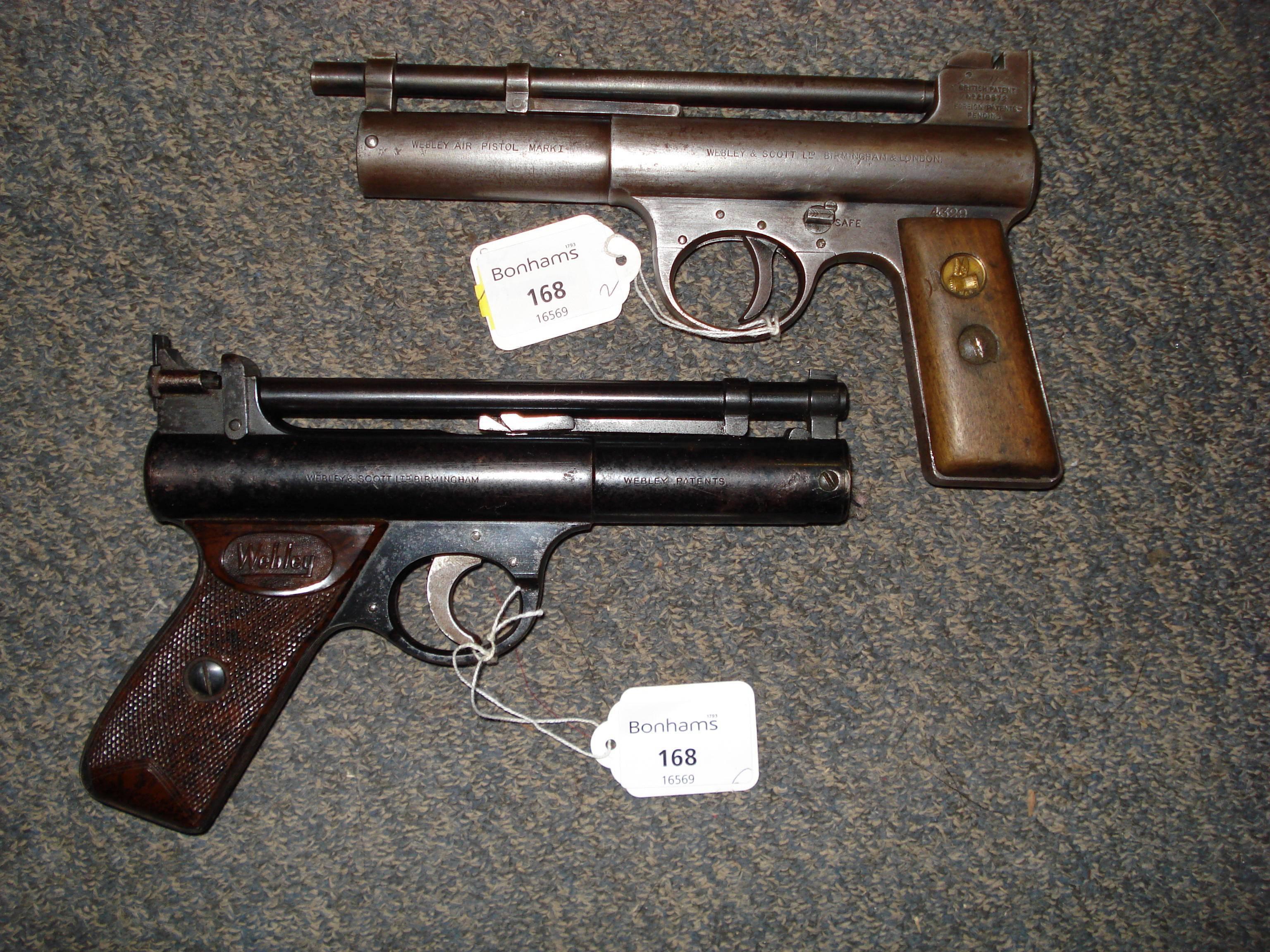 Пистолет webley & scott m1906