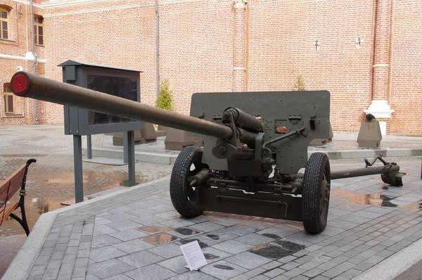 57-мм противотанковая пушка зис-2 (1941) | военный портал