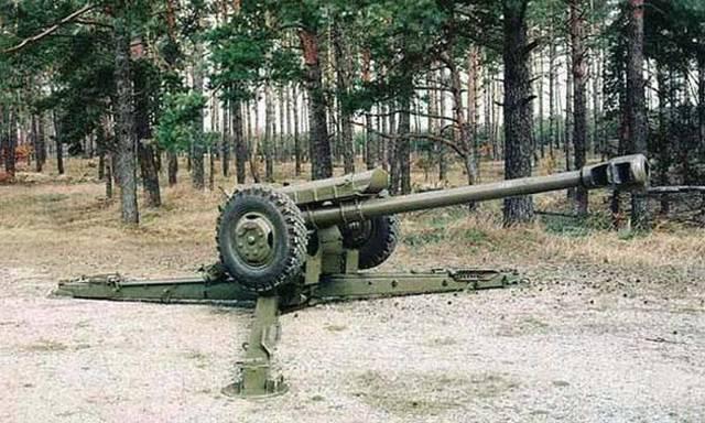 Пушка д-74 калибр 122-мм фото. ттх. устройство