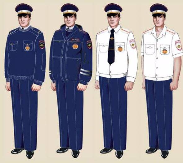 Правила ношения формы полиции в 2018 году