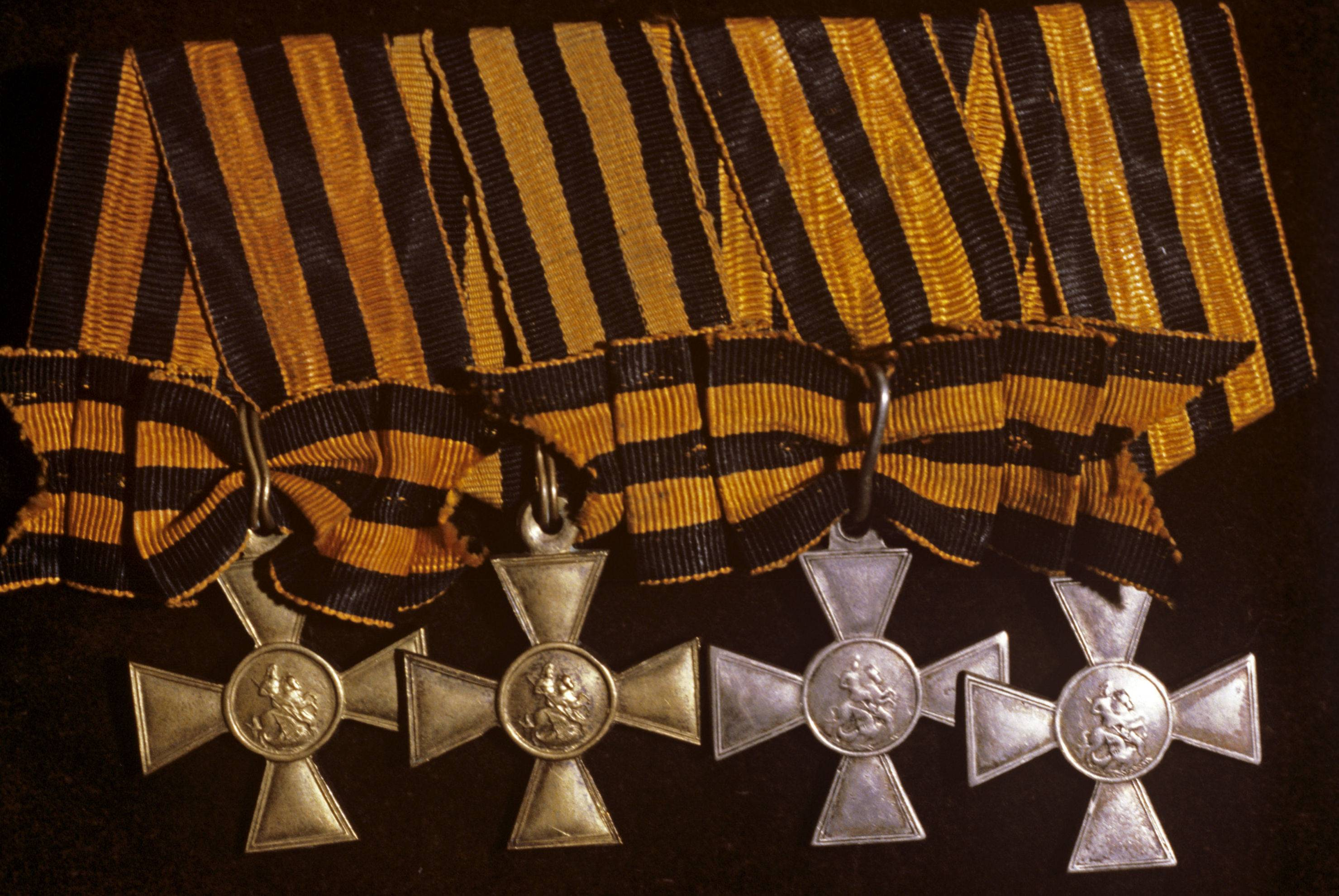 Полные кавалеры георгиевского креста