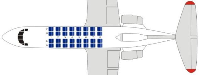 Як-42 — обзор самолета, характеристики, схема салона