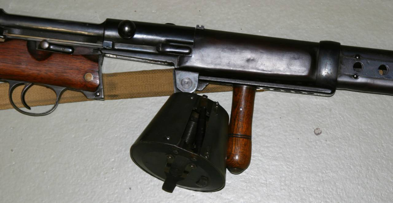 Самозарядная винтовка Farquhar-Hill
