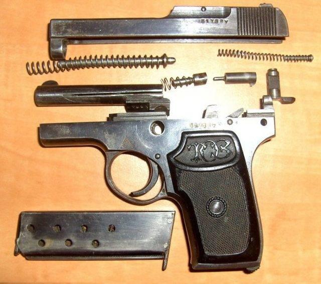 Тульский Коровин– первый автоматический пистолет СССР