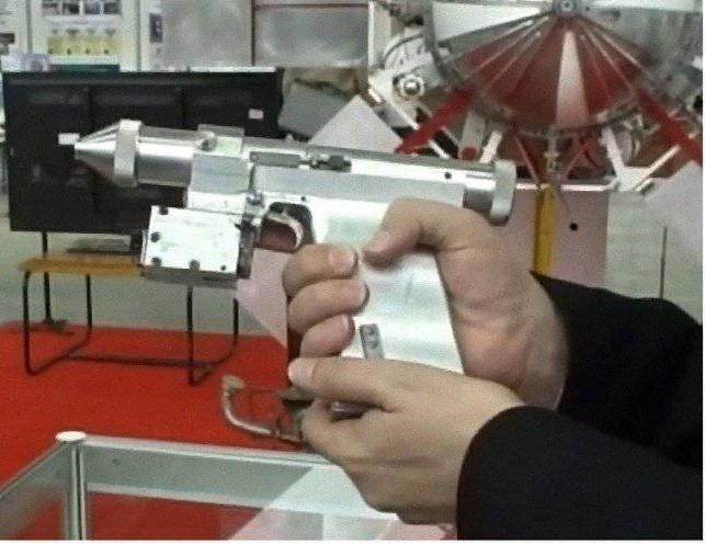 Каким было лазерное оружие для советских космонавтов