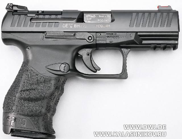 Пистолет walther mp