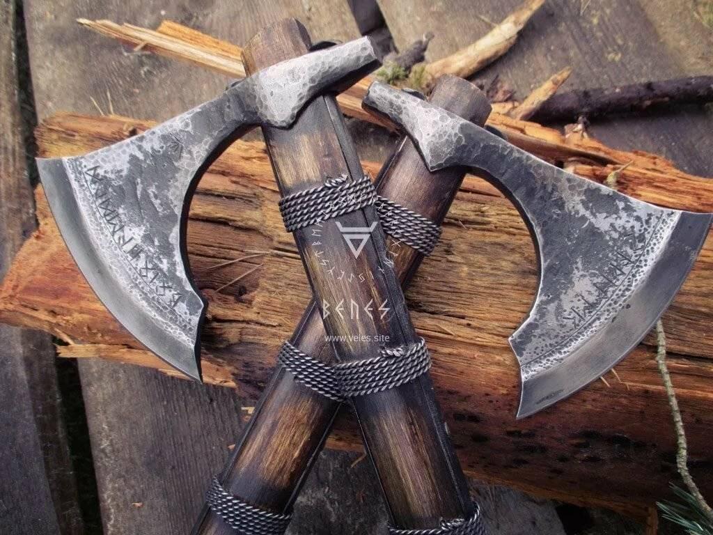 Боевые топоры (2): оружие рыцарей и королей. боевой топор – спутник человека в мире оружия боевой двуручный топор