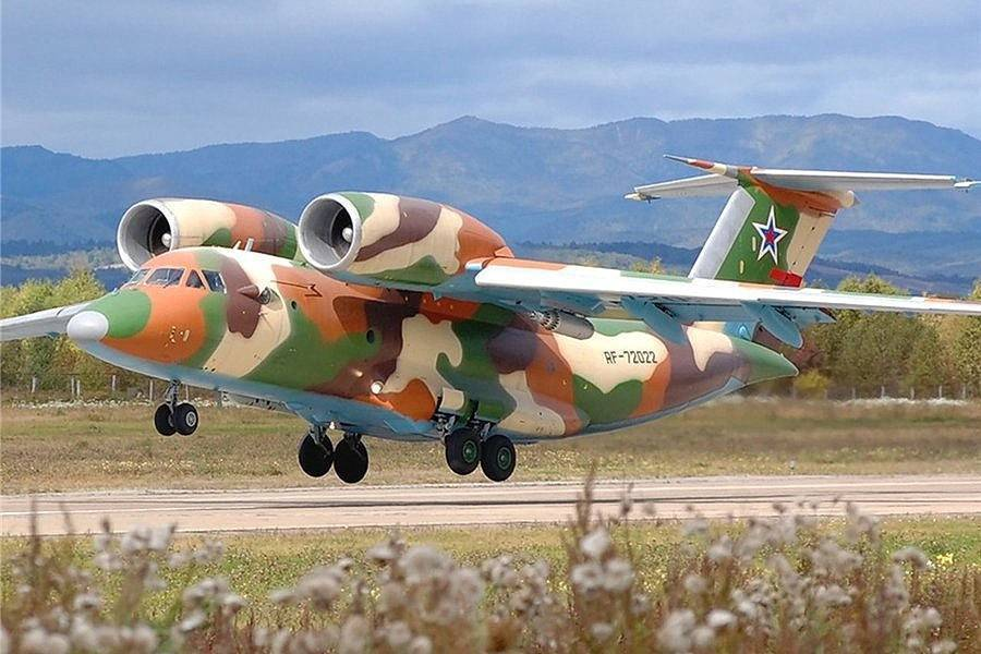 Самолет ан-72: ттх, фото