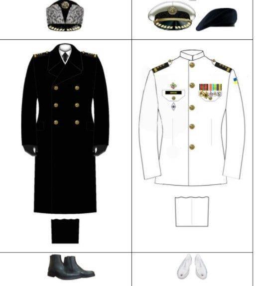Форма одежды военнослужащих, воинские звание и знаки различия