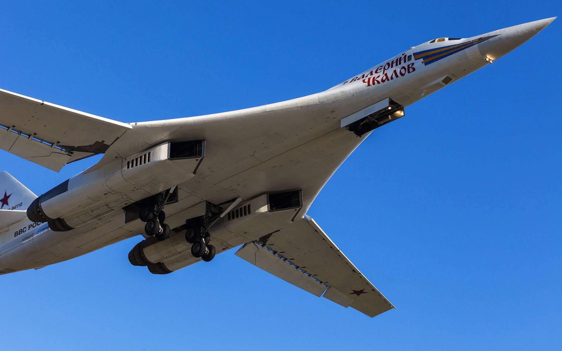 Ту-160. белый лебедь. фото. характеристики.