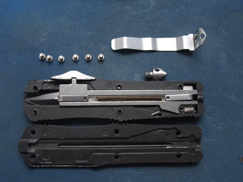 5 распространенных типов замков складных ножей и принципы их действия