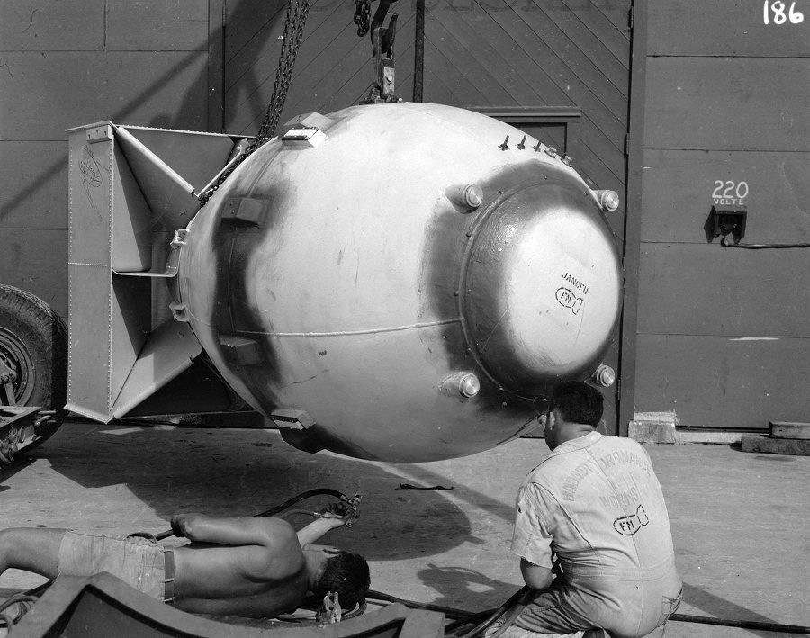 Ядерная бомба малыш. ядерная бомба – оружие, обладание которым, уже является сдерживающим фактором