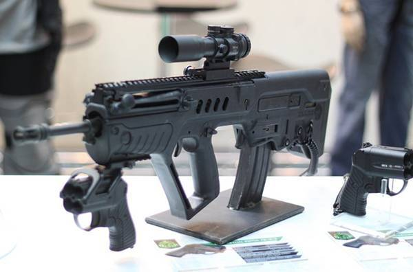 Видео: штурмовая винтовка tavor tar-21