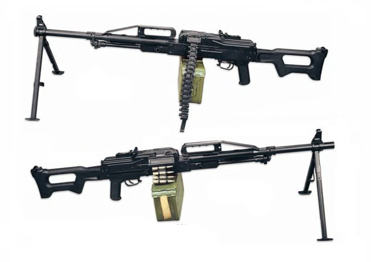 Пулемет калашникова пк и пкм патрон калибр 7,62 мм